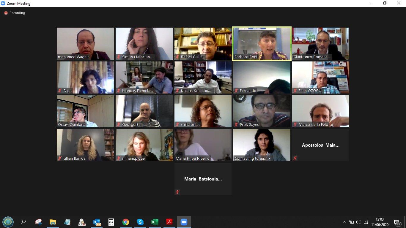 PRIMA 2019 AGRO-FOOD Virtual Synergy Meeting